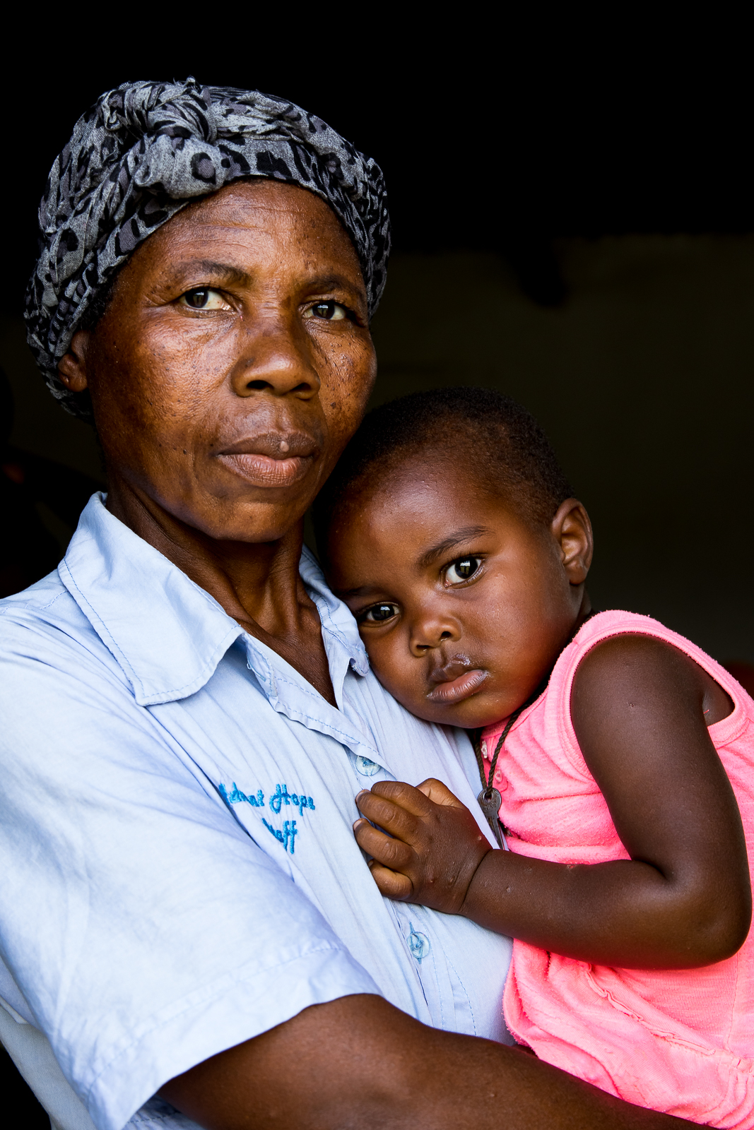 Caregiver and Child, South Africa
