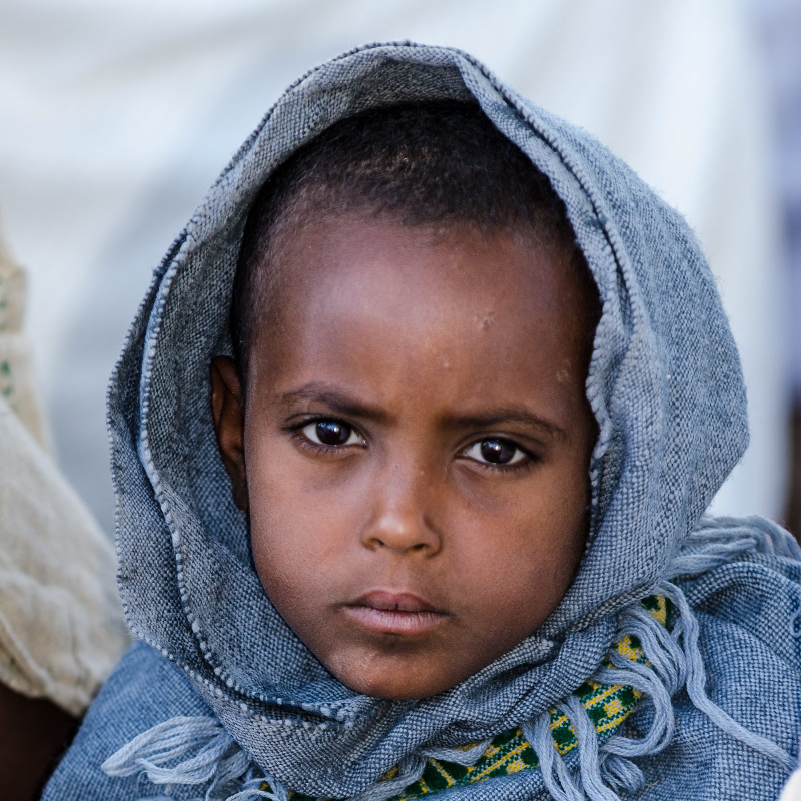 Girl in Ethiopia