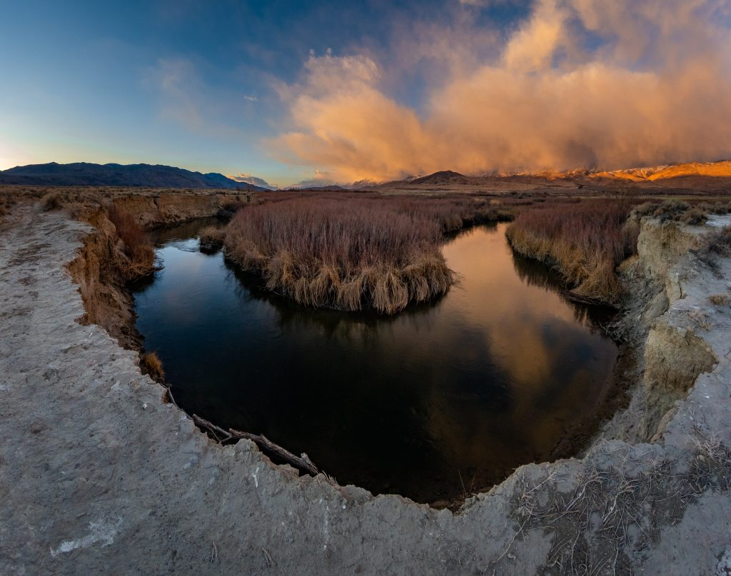 Horseshoe Bend on the Owens River