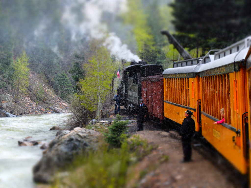 Water Stop for Durango Silverton Train