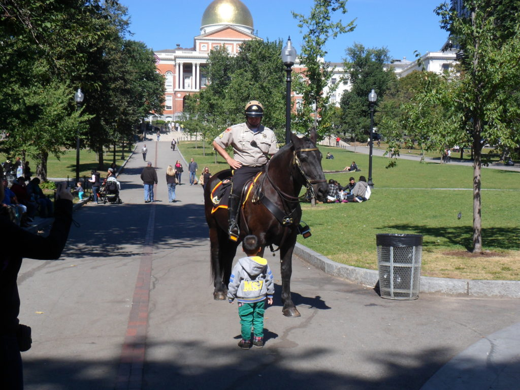 Boston Child Policeman